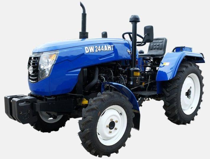 Помощь труженику в виде трактора DW 244